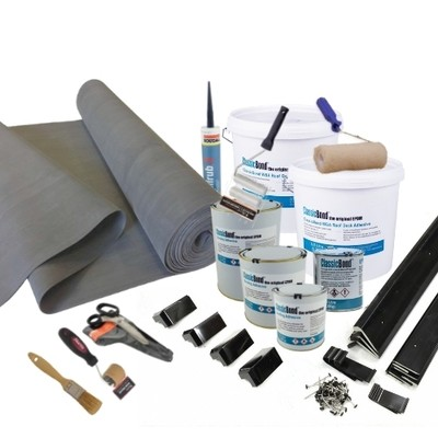 Rubber Roofing Kits 1.5mm  - 2.5m2 - 100m2
