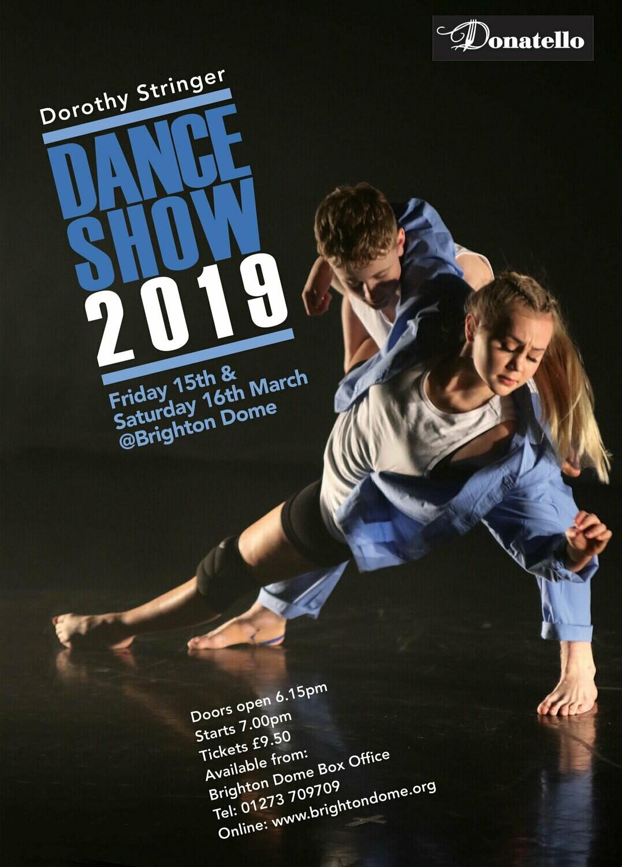 Dorothy Stringer Dance Show DVD 2019 (SD)