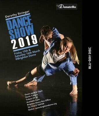 Dorothy Stringer Dance Show BLU RAY DVD 2019 (HD)