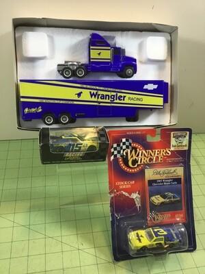 NDC113  Dale Earnhardt Wrangler Hauler w/ 2 cars