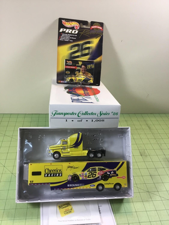 NDC115 1/64  Johnny Benson Hauler w/car