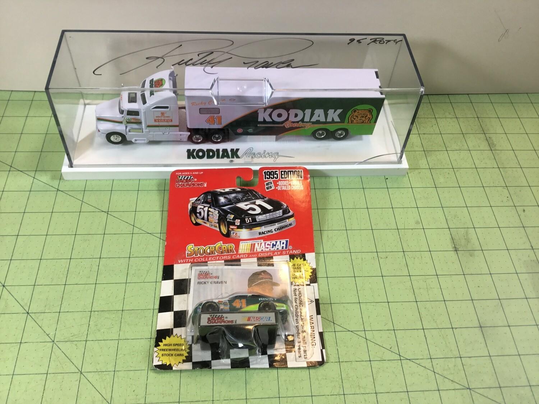 NDC128 1/64 Ricky Craven Hauler w/ Car
