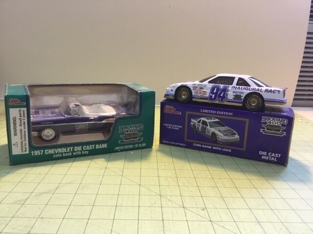 NDC136 2  1/25 Brickyard 400 Cars