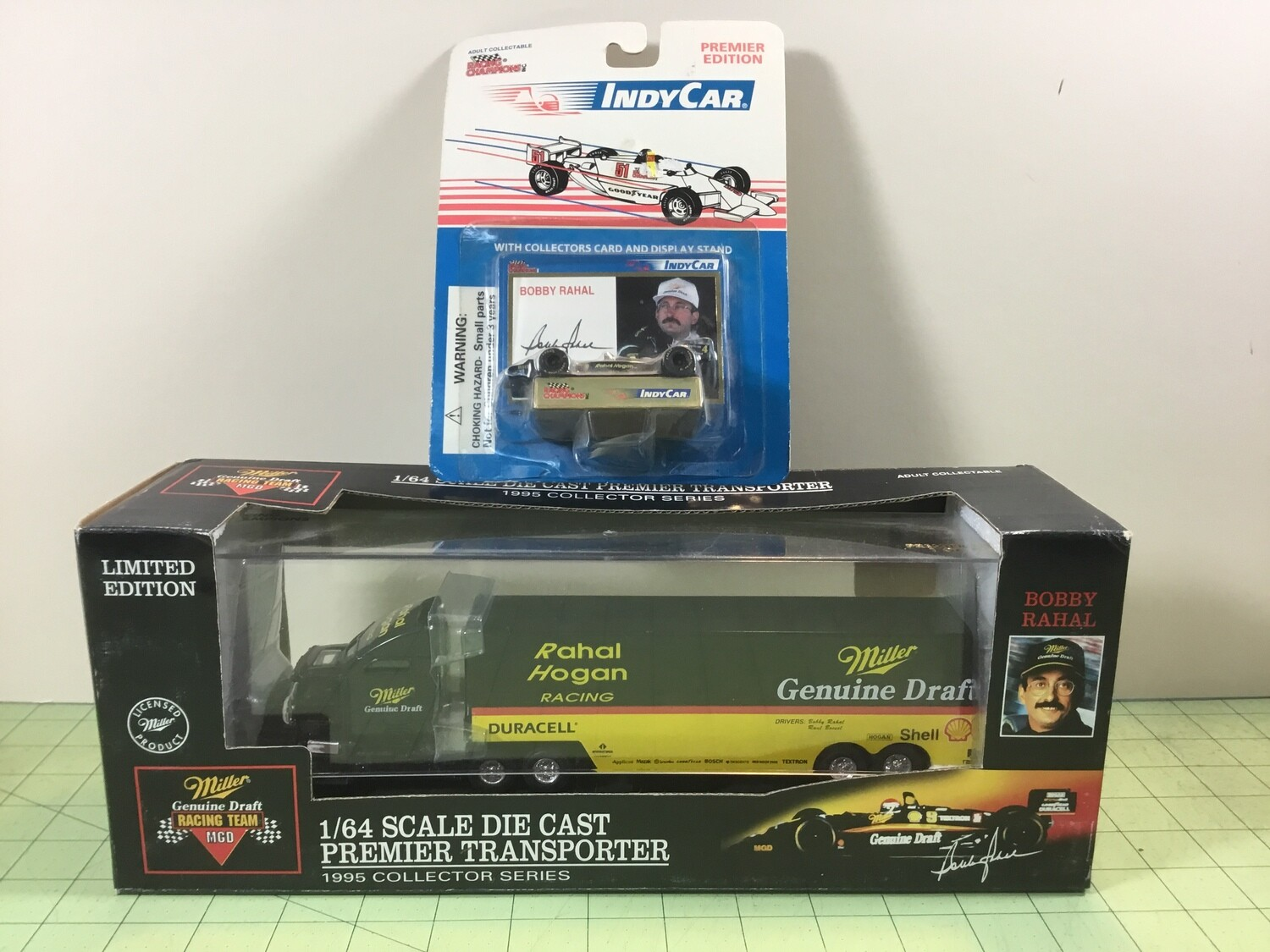 NDC152 Indy Car Bobby Rahal Hauler W/ Car
