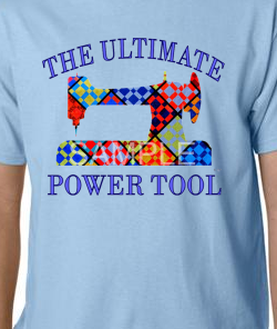 Lt. Blue Ultimate Power Tool Tee-shirt 2X