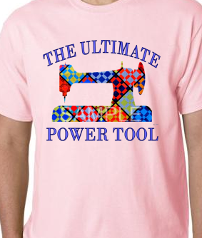 Lt. Pink Ultimate Power Tool Tee-shirt MEDIUM
