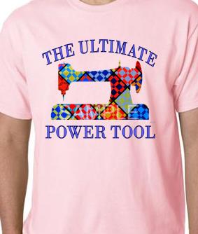 Lt. Pink Ultimate Power Tool Tee-shirt SMALL