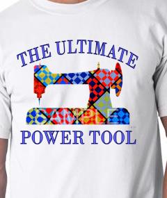 White Ultimate Power Tool Tee-shirt MEDIUM