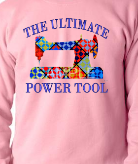 Pink Ultimate Power Tool Sweatshirt MEDIUM