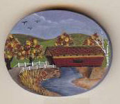 COVERED BRIDGE PIN