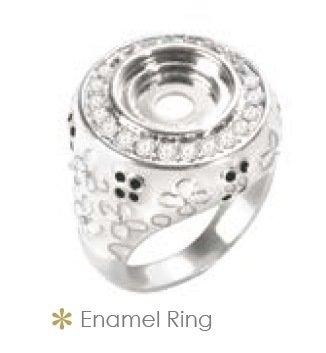 LD8054 ENAMEL RING SZ 9