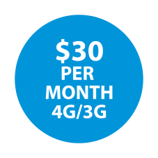 Selectel Wireless  $30  Unltd Minutes  / Unltd Text & 3 GBs of High-Speed Data