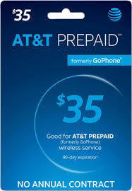 AT&T Prepaid - Unlimited Nationwide Talk and Text with 1 GB of high speed data.  (Data slows to up to 128 kbps once the high speed data is depleted)