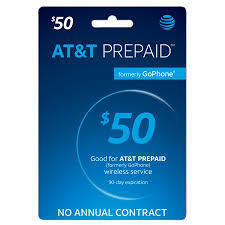 AT&T Prepaid - Unlimited Nationwide Talk and Text with 8 GBs of high speed data.  (Data slows to up to 128 kbps once the high speed data is depleted)