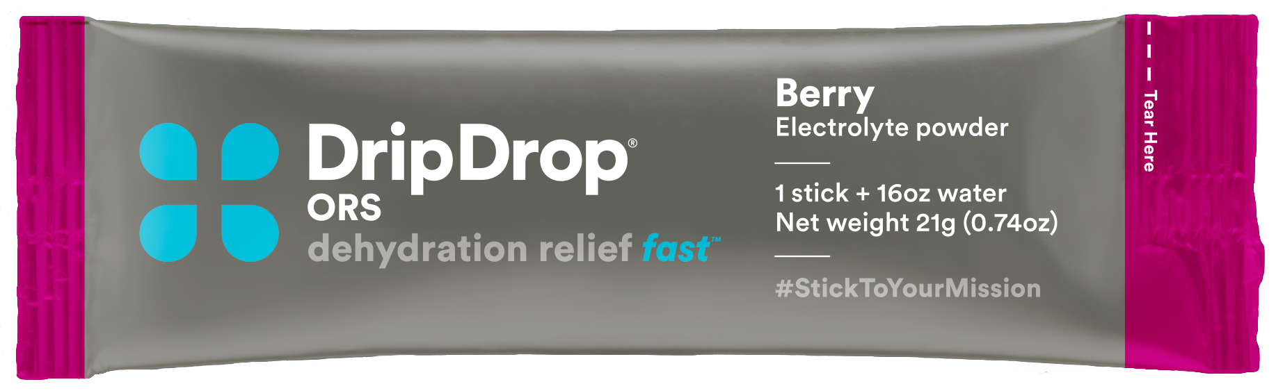 DripDrop Electrolyte Oral Hydration Powder 00132