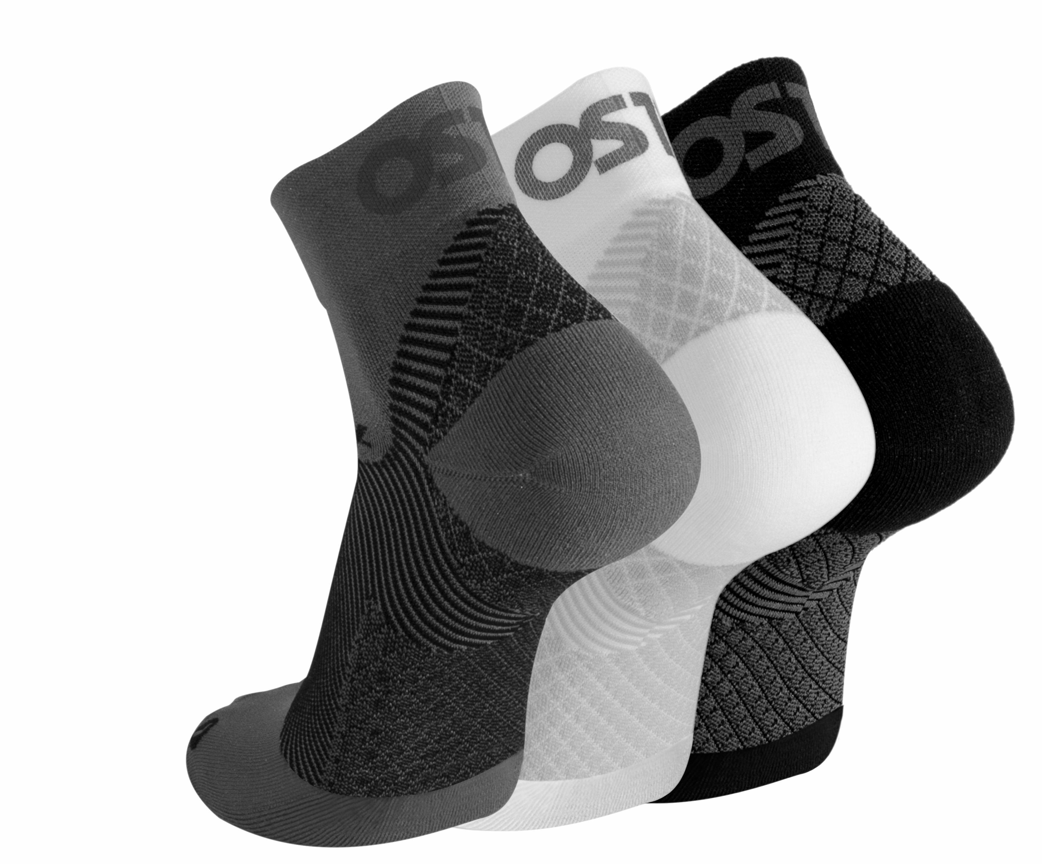 FS4 Plantar Fasciitis Quarter Crew Socks 100-021