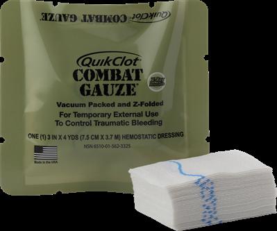 QuikClot Combat Gauze® MILITARY 30-104