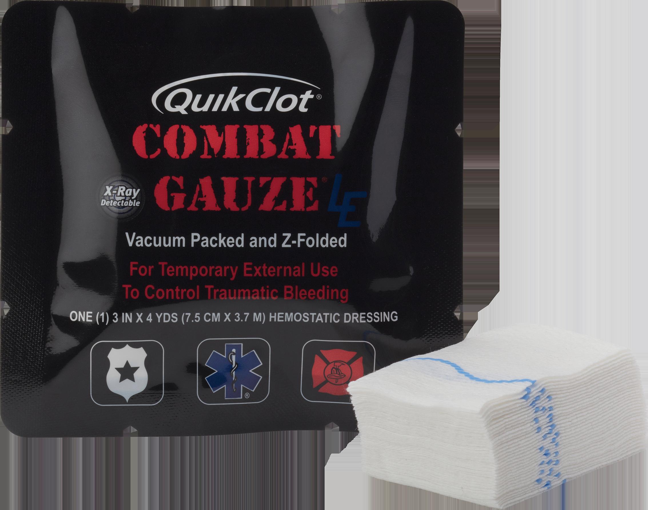 QuikClot Combat Gauze® LE 30-103