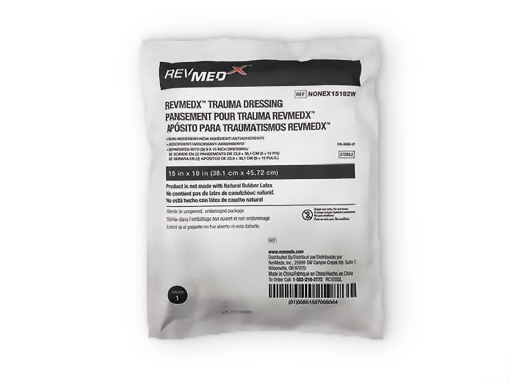 RevMedx™ Trauma Dressing (RTD™), Non-Vacuum Package 00068