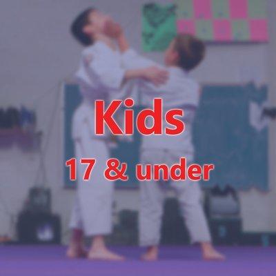 Kids 17 & under Annual Membership