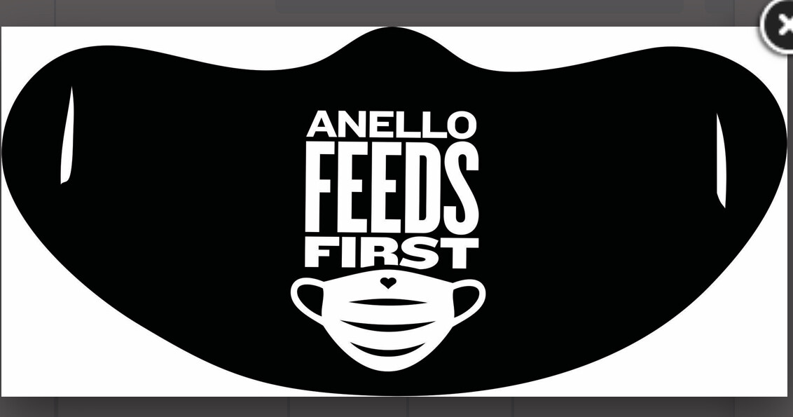 One Ply Anello Feeds First Mask