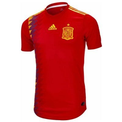 Adidas Spain Official Home Jersey Shirt 2018 (Authentic Version)