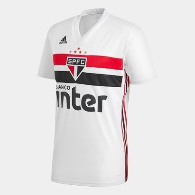 Adidas Sao Paulo FC Official Home Soccer Jersey Shirt 19/20