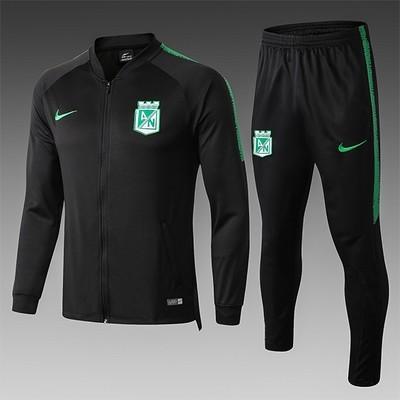 Nike Atletico Nacional Black Training Sweat Suit 18/19