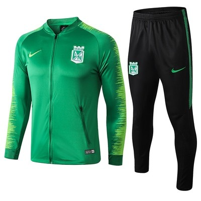 Nike Atletico Nacional Green Training Sweat Suit 18/19