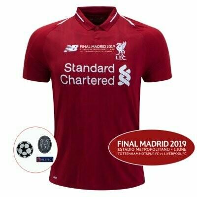 New Balance  Liverpool Official Home UCL Final Jersey Shirt 18/19