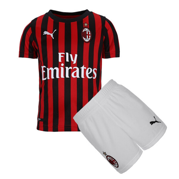 Puma AC Milan Official Soccer Jersey Kids Kit 19/20