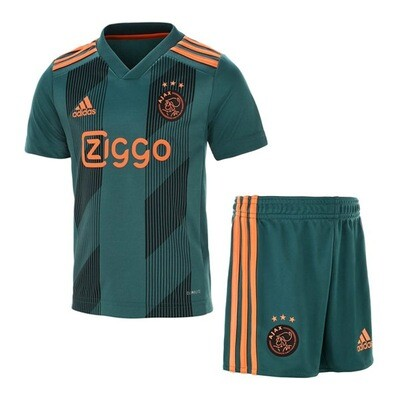 Adidas AJax Official Away Soccer Jersey Kids Kit 19/20