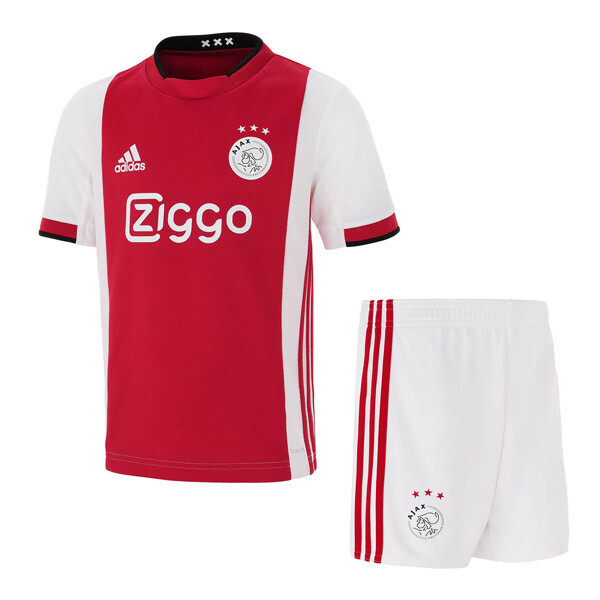 Adidas Ajax Official Home Soccer Jersey Kids Kit 19/20