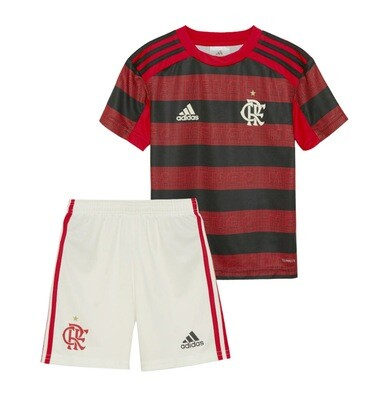 Adidas Flamengo Official Home Soccer Jersey Kids Kit 19/20