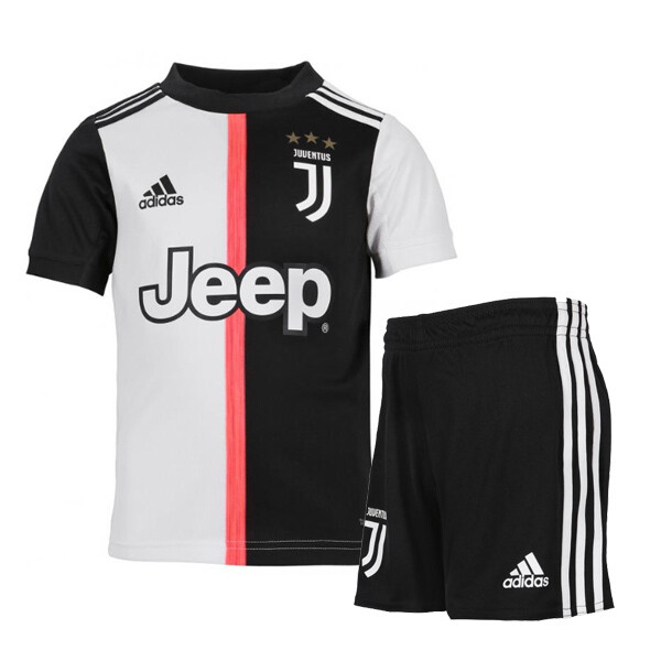 Adidas Juventus Official Home Soccer Jersey  Kids Kit 19/20