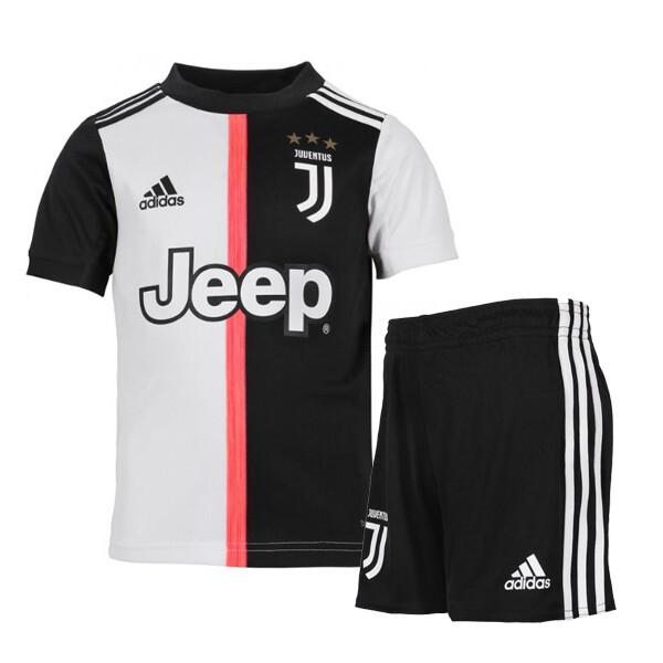 Adidas Juventus Official Home Soccer Jersey  Kids Kit 19/20