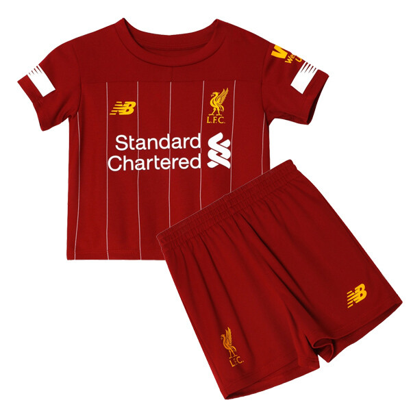 New Balance Liverpool Official Home Soccer Jersey Kids Kit 19/20