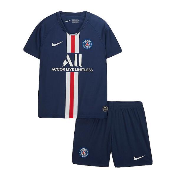 Nike PSG Official Home Soccer Jersey Kids Kit 19/20