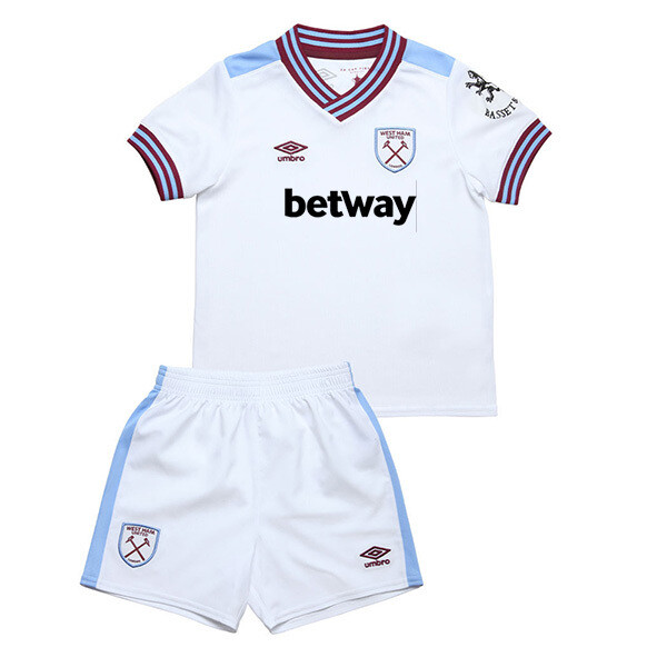 Umbro West Ham Official Away Soccer Jersey Kids Kit 19/20