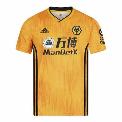 Adidas Wolverhampton Wolves Wanderers Home Jersey Shirt 19/20