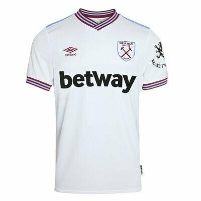 Umbro West Ham United Official Away Jersey Shirt 19/20