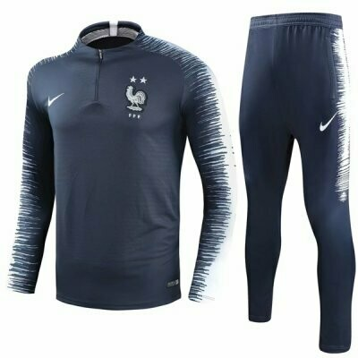 Nike France Tracksuit World Cup 2018 (Two Star)