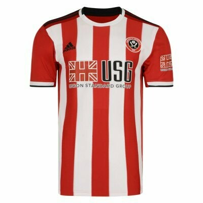 Adidas Sheffield  United Official Home Jersey  19/20