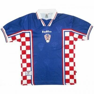 1998 Croatia Away Soccer Jersey (Replica)