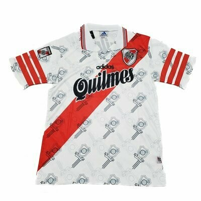 1996 River Plate Retro Jersey Shirt (Replica)