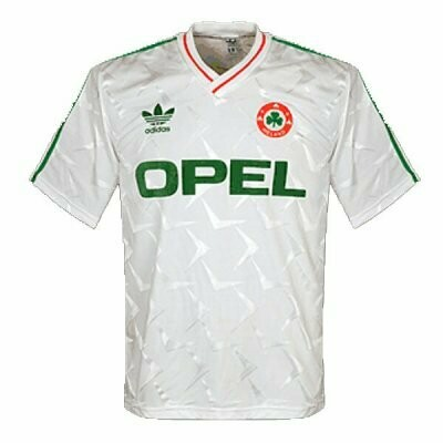 1990 Ireland Away Soccer Jersey (Replica)