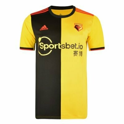 Adidas Watford Official Home Jersey Shirt 19/20