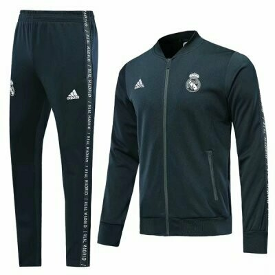 Adidas Real Madrid Navy Blue Training Suit 2019