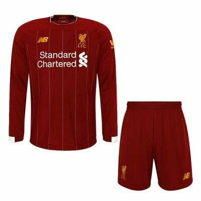 New Balance Official Liverpool Home Soccer Jersey Adult Uniform Kit 19/20