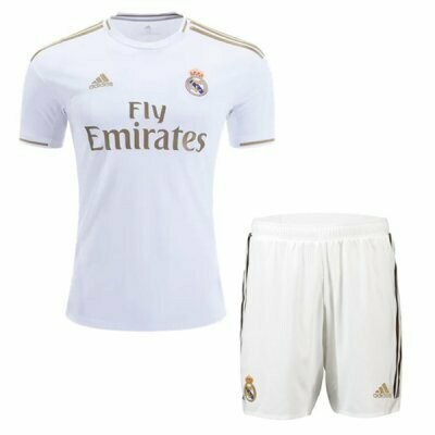 Adidas Real Madrid Home Soccer Jersey Adult Uniform Kit 19/20